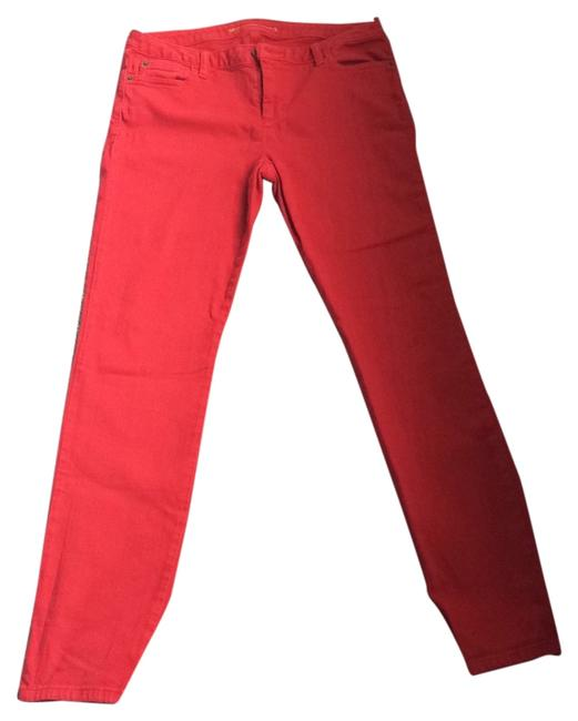 Item - Red Skinny Jeans Size 32 (8, M)
