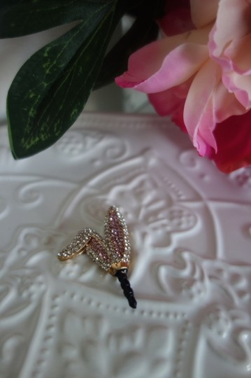 Other Rhinestone Bunny Ear Dust Plug