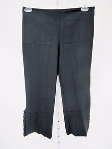 Trina Turk Womens Capri/Cropped Pants Black