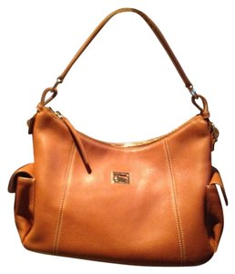 Dooney & Bourke Leather Pink Interior Hobo Bag