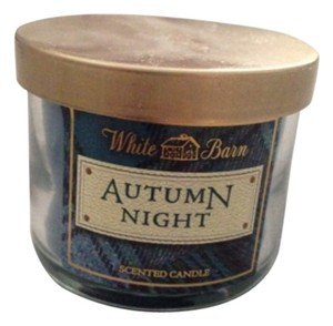 Bath and Body Works White Barn Autumn Night