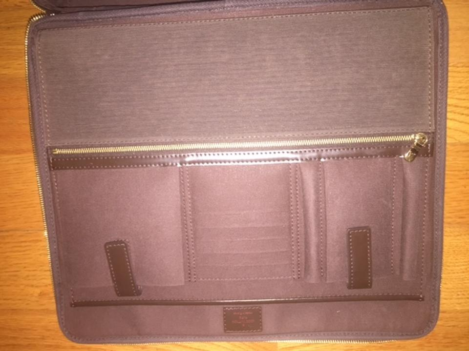 Louis Vuitton Brown Computer Computer Case Laptop Bag Image 11.  123456789101112 b40fd2179cead