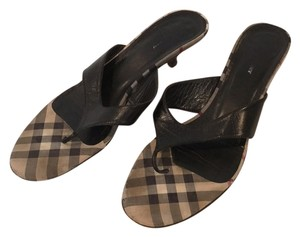Burberry Blac Sandals