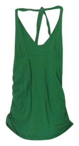 Moda International Halter Halter Top Green