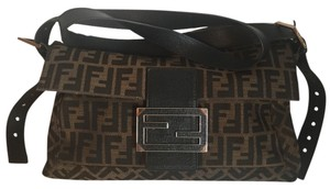 Fendi Brown Messenger Bag