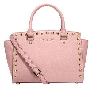 Michael Kors Satchel in light gold/pink
