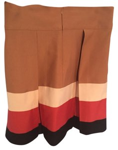 Zara Skirt Black nude red