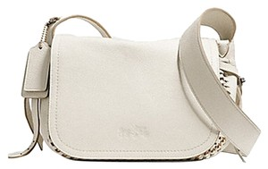 Coach Whiplash Handsewed Gold Lace 34397 F34397 Cross Body Bag