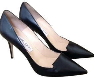 Jimmy Choo Black leather Pumps