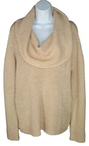 Boston Proper Lurex Knit Metallic Sheen Sweater