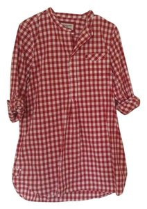 Heritage 1981 short dress Red Ging Gingham on Tradesy