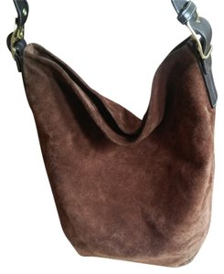 Coach Hobo Suede Boho Tote in Brown