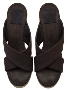 Tory Burch Chocolate brown Mules