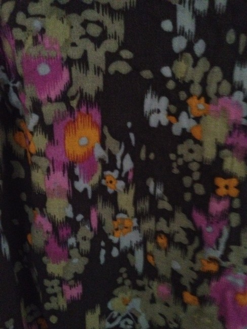 Old Navy short dress Blue Purple Floral Floral on Tradesy