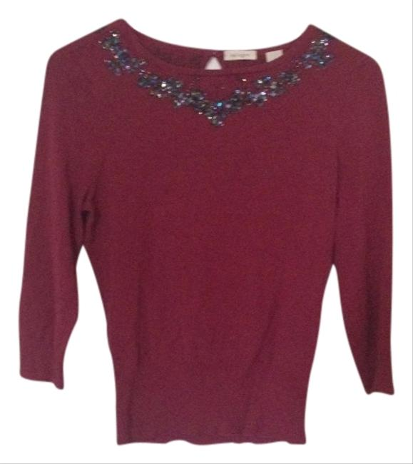 Nordstrom Beaded Sweater
