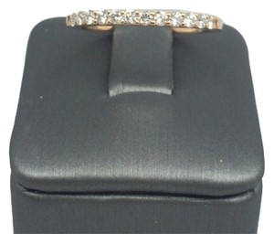 Other 14K Solid Rose Gold Diamond Band