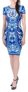 Cynthia Steffe short dress blue white on Tradesy