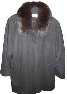 Forecaster of Boston Fur Wool Size S Fur Coat