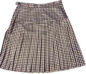 Yoke Skirt Black & White
