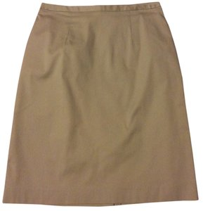 Geoffrey Beene Skirt Tan