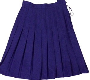 Casual Corner Skirt Purple