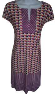 Laundry by Shelli Segal short dress Pink/Multi Mod on Tradesy