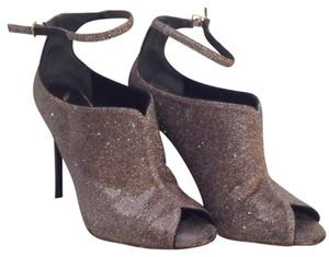 Brian Atwood Silver and gold Formal
