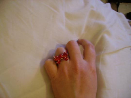 Forever 21 Red Bow Ring