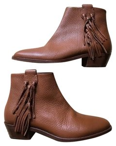 Valentino Leather Brown Boots