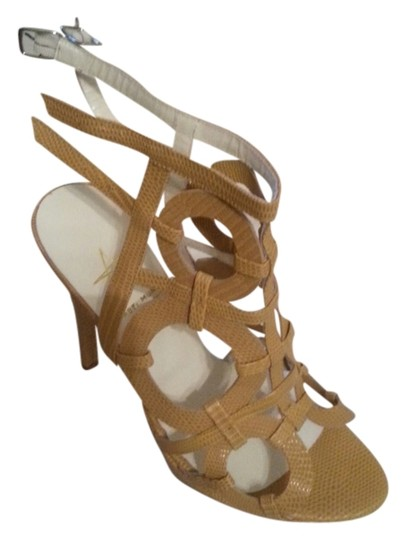 Abel Munoz Mustard yellow Sandals