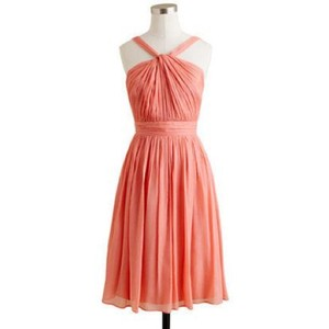 J.Crew Peach Sinlair Dress