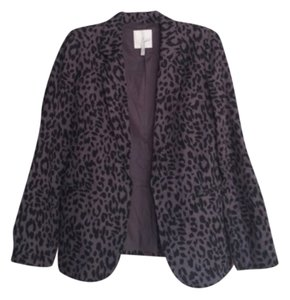 Joie Black & Gray Blazer