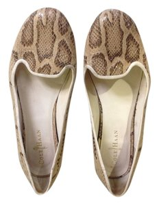 Cole Haan Nike Air Flat Comfort Light Python Flats