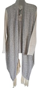 Lucky Brand Knit Bohemian Eclectic Cape