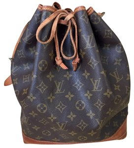 Louis Vuitton Noe Noe Handbag Classic Lv Leather Vintage Shoulder Bag