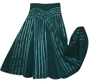 Festival Gypsy Edgy Skirt Teal