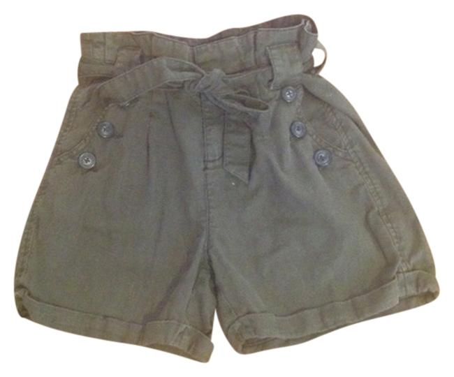 Item - Dark Green High Waisted Shorts Size 2 (XS, 26)