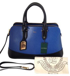 Ralph Lauren Satchel in Blue and Black