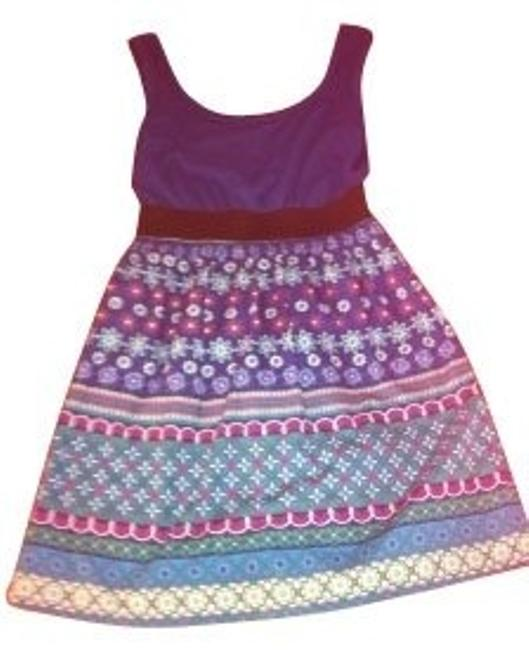 Xhilaration short dress Multi on Tradesy