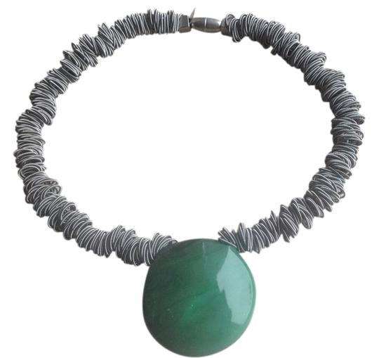 Preload https://img-static.tradesy.com/item/802096/green-grey-metal-rings-wearable-sculpture-art-0-0-540-540.jpg
