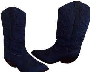 Zodiac Royal Blue Boots