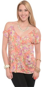 Finesse Plus Size Top floral