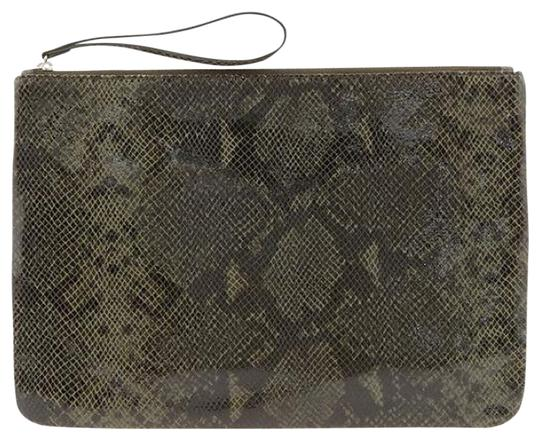 Preload https://img-static.tradesy.com/item/802437/banana-republic-oversized-dark-greenblackbrown-leather-clutch-0-0-540-540.jpg