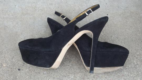 Sam Edelman Movato 8.5 Black Platforms