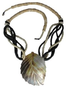 Other ABALONE SHELL LEAF DESIGN NECKLACE