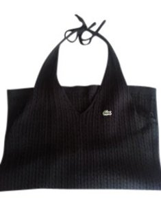 Lacoste Black Halter Top