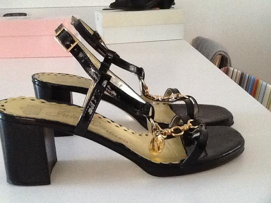 Juicy Couture Black Sandals