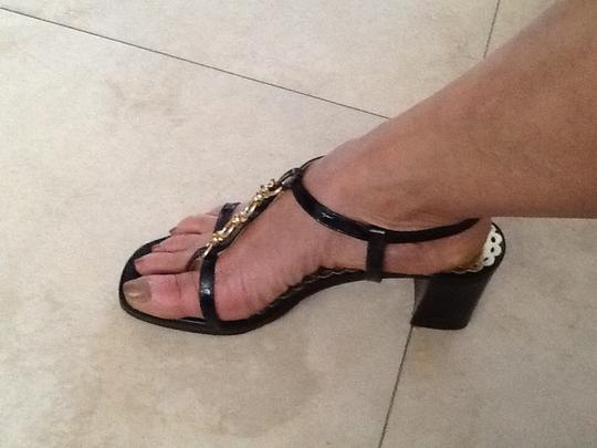 Juicy Couture Black Sandals Image 4