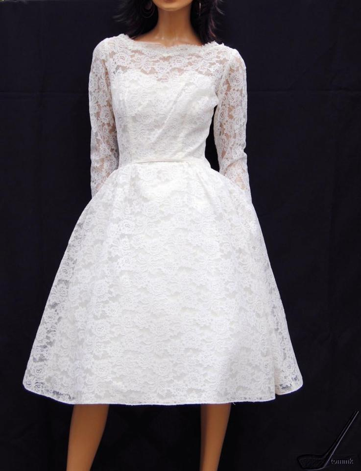 White Lace Couture Lorrie Deb Of San Francisco 1950\'s Vintage ...