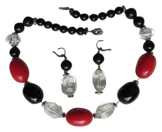 Other SET LARGE BEADS NECKLACE